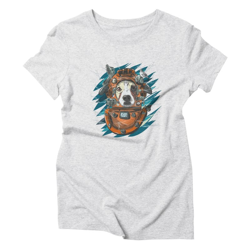 Homemade Time Machine Women's Triblend T-Shirt by Time Machine Supplies