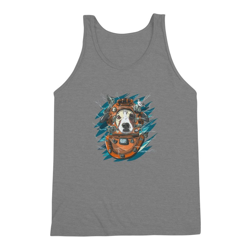 Homemade Time Machine Men's Triblend Tank by Time Machine Supplies