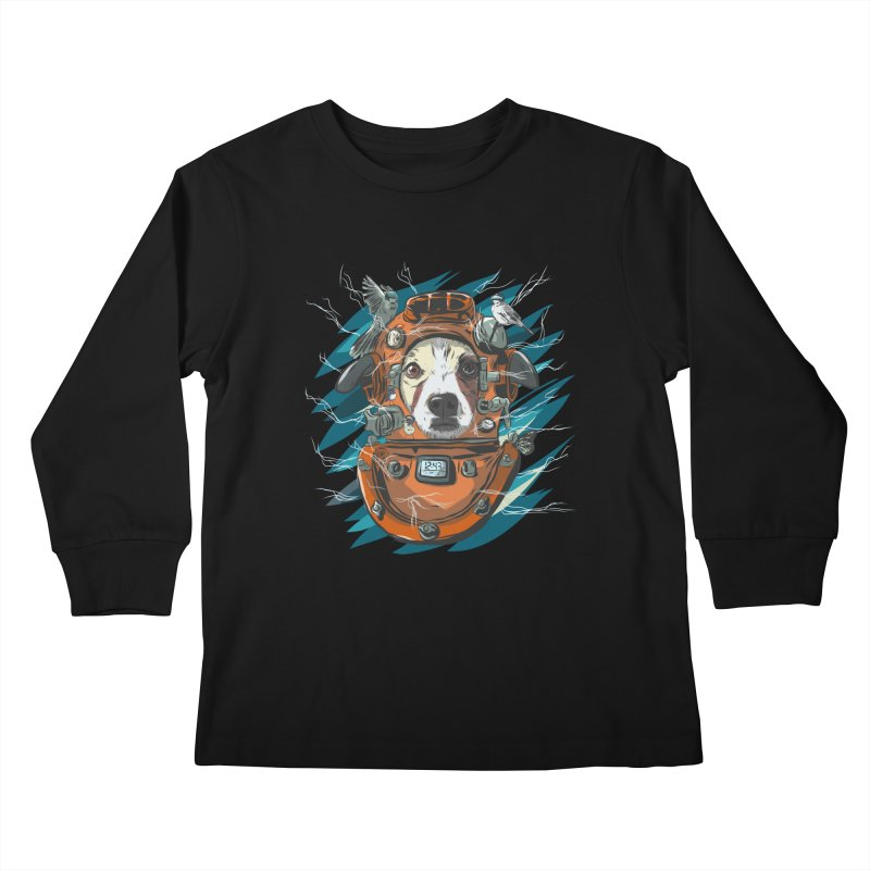 Homemade Time Machine Kids Longsleeve T-Shirt by Time Machine Supplies