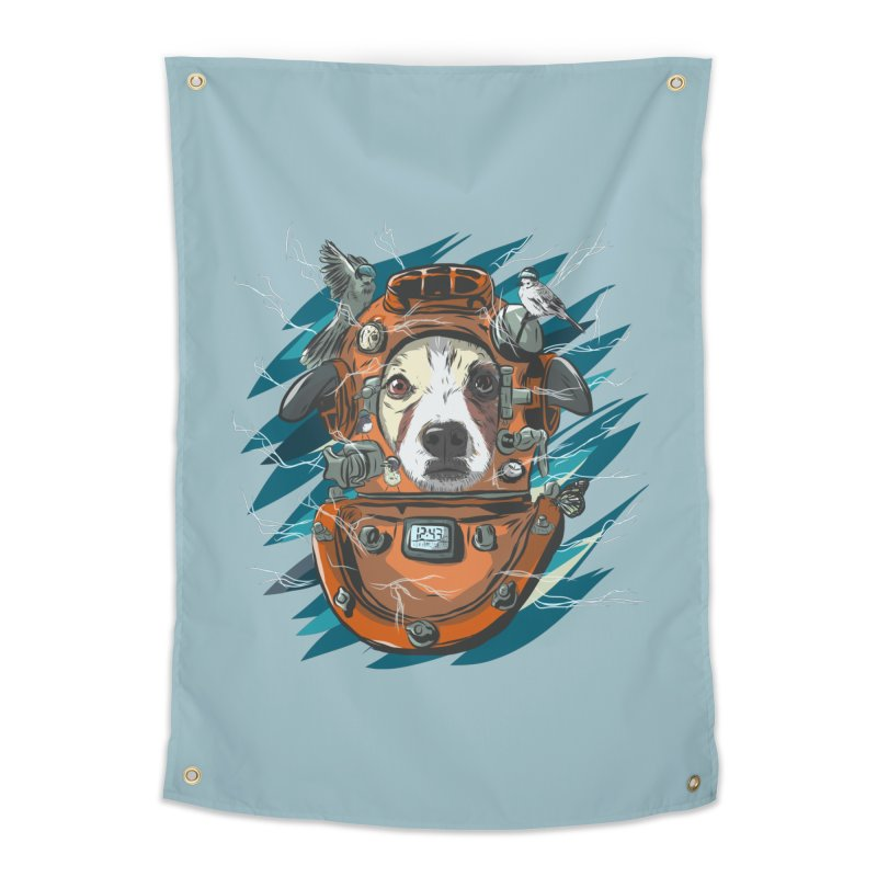 Homemade Time Machine Home Tapestry by Time Machine Supplies