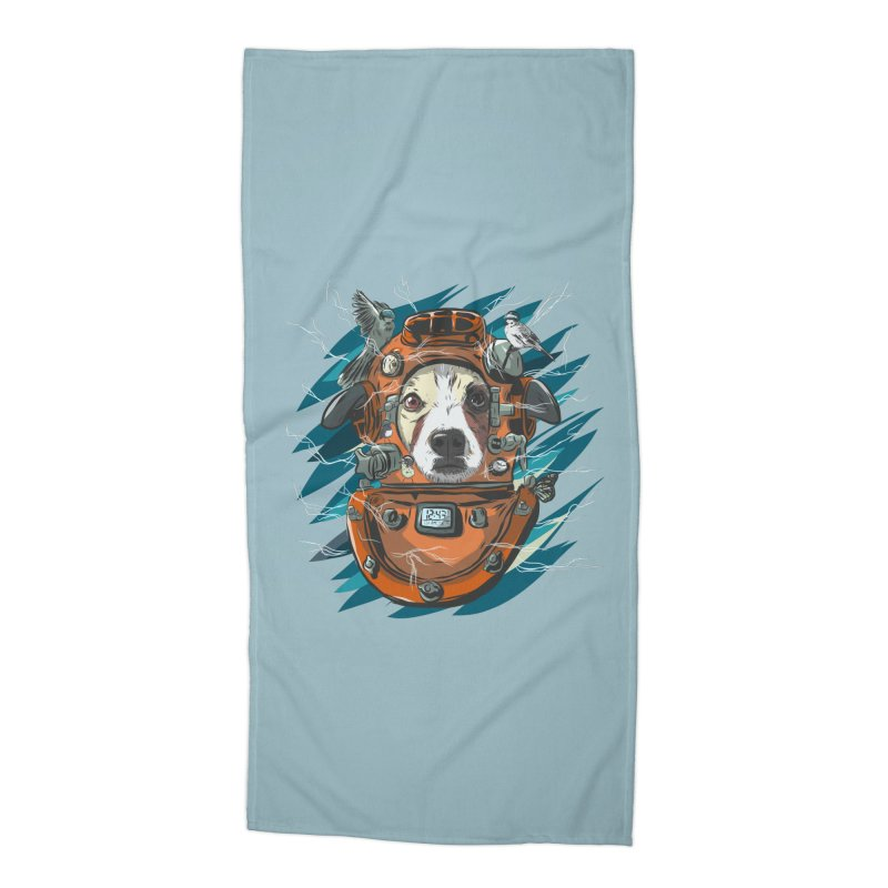 Homemade Time Machine Accessories Beach Towel by Time Machine Supplies