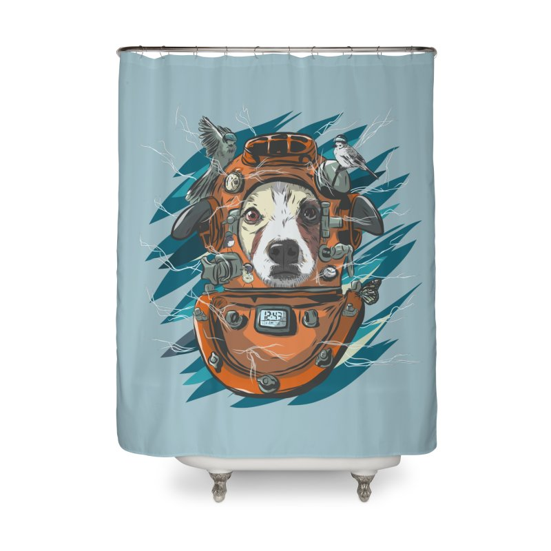Homemade Time Machine Home Shower Curtain by Time Machine Supplies