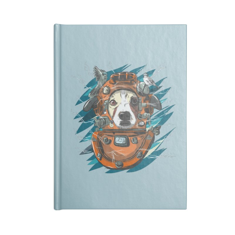 Homemade Time Machine Accessories Blank Journal Notebook by Time Machine Supplies