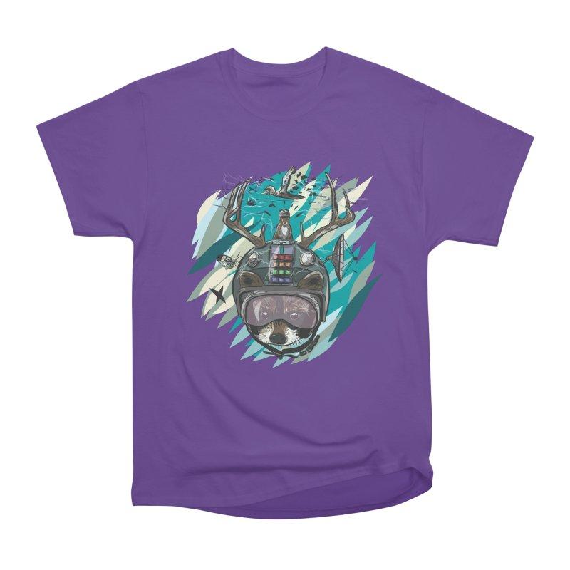 Time Hat Women's Heavyweight Unisex T-Shirt by Time Machine Supplies