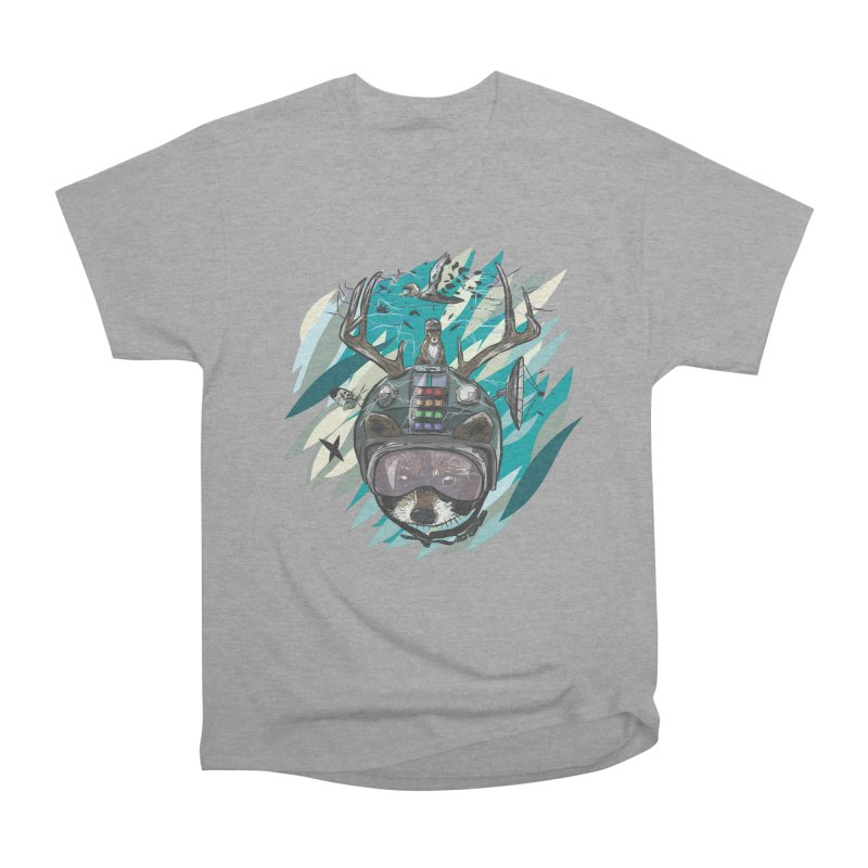 Time Hat Women's Heavyweight Unisex T-Shirt by Time Machine Supplies