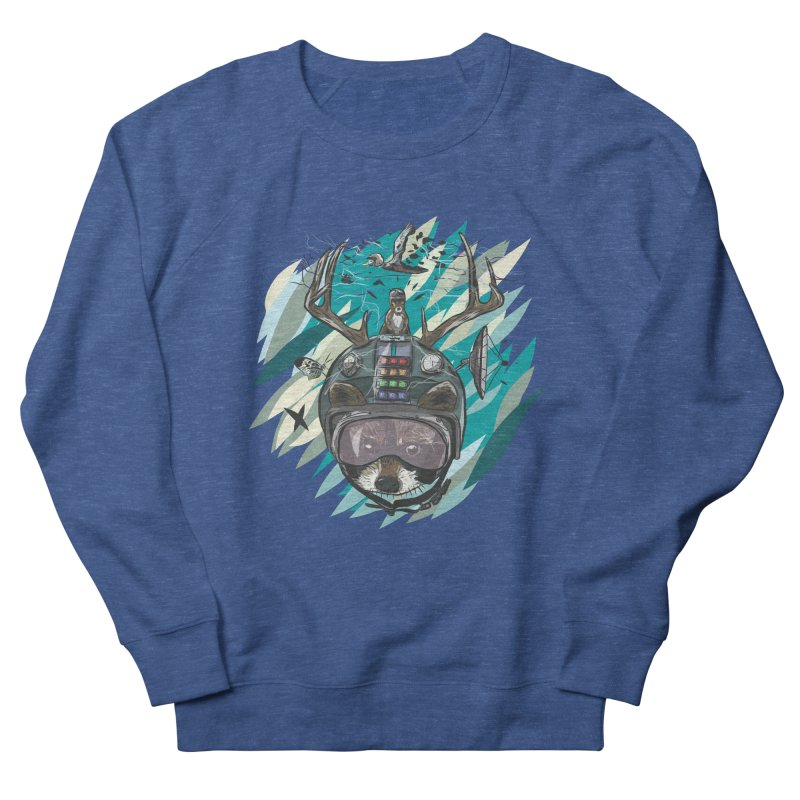 Time Hat Men's French Terry Sweatshirt by Time Machine Supplies