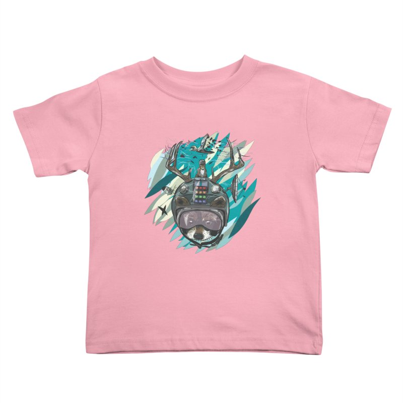 Time Hat Kids Toddler T-Shirt by Time Machine Supplies