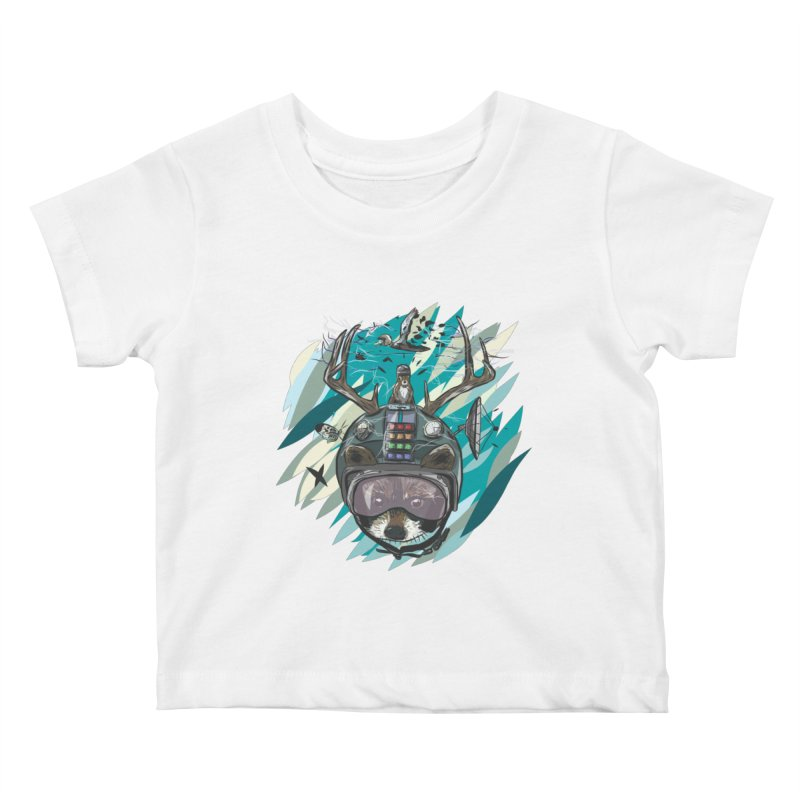Time Hat Kids Baby T-Shirt by Time Machine Supplies