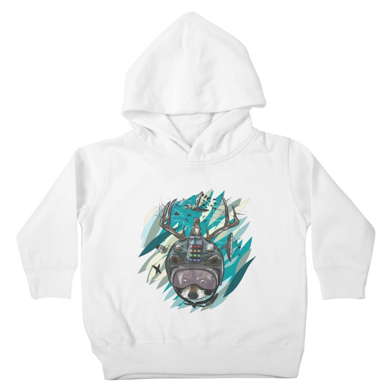 Time Hat Kids Toddler Pullover Hoody by Time Machine Supplies