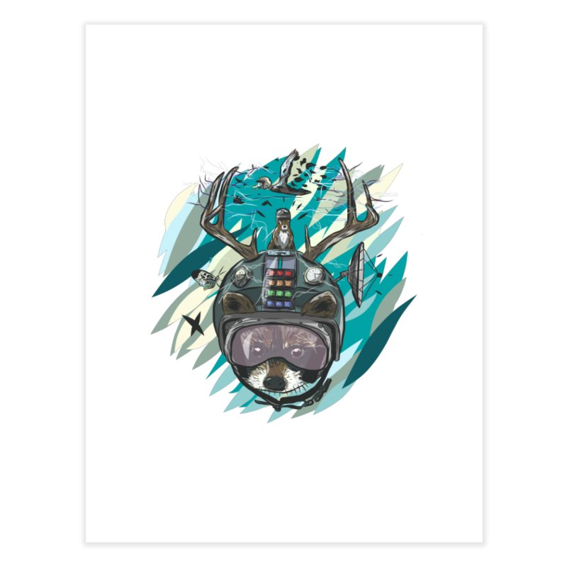 Time Hat Home Fine Art Print by Time Machine Supplies