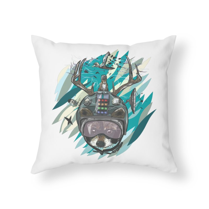 Time Hat Home Throw Pillow by Time Machine Supplies