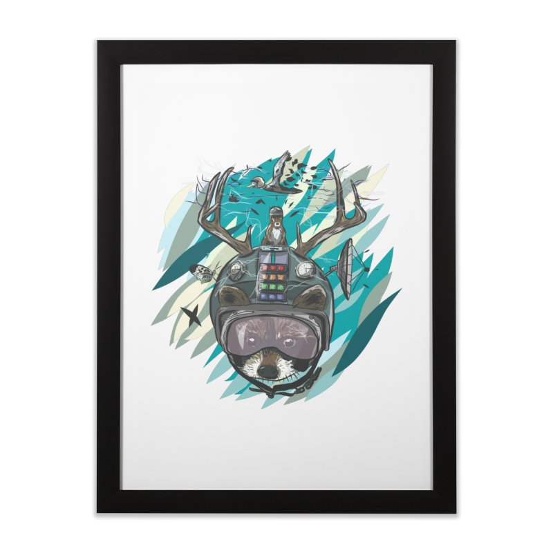 Time Hat Home Framed Fine Art Print by Time Machine Supplies