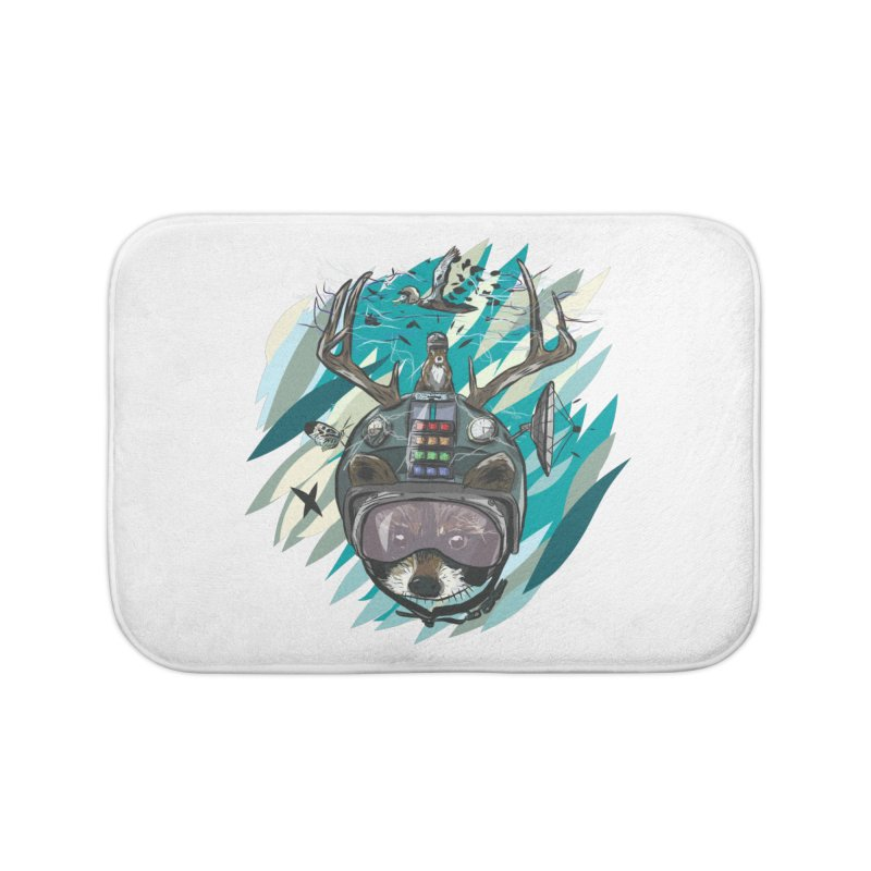 Time Hat Home Bath Mat by Time Machine Supplies