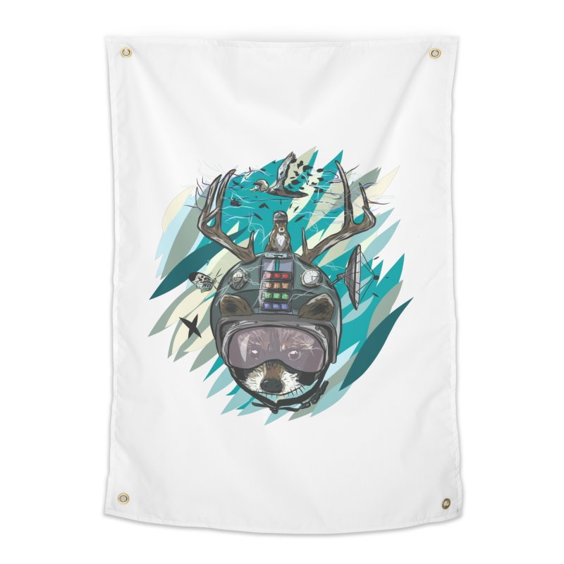 Time Hat Home Tapestry by Time Machine Supplies