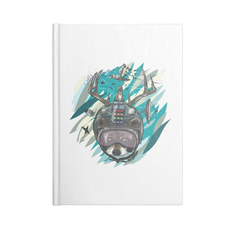 Time Hat Accessories Blank Journal Notebook by Time Machine Supplies