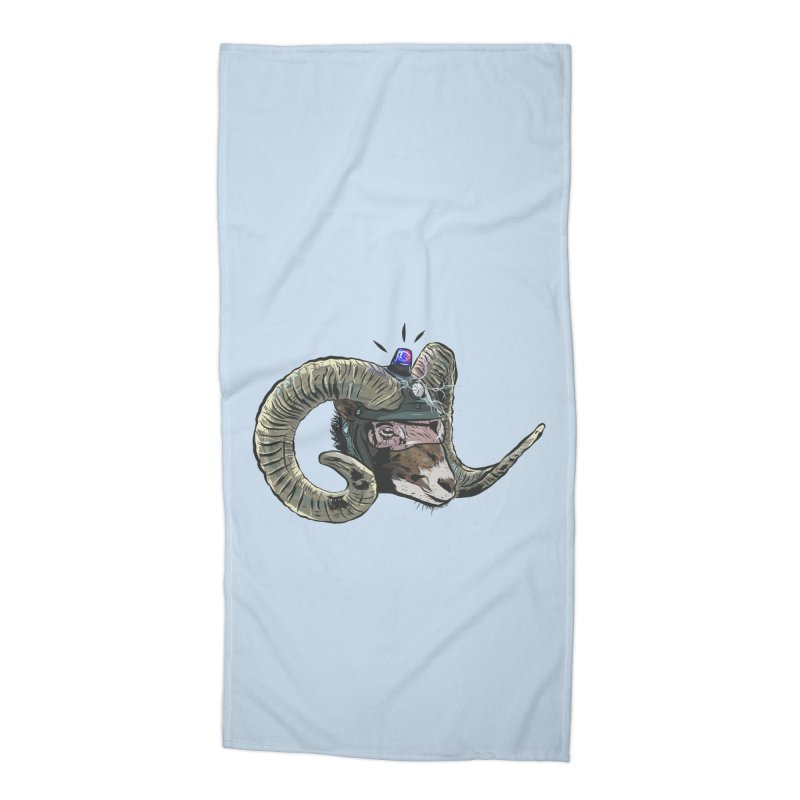 Time Police Accessories Beach Towel by Time Machine Supplies