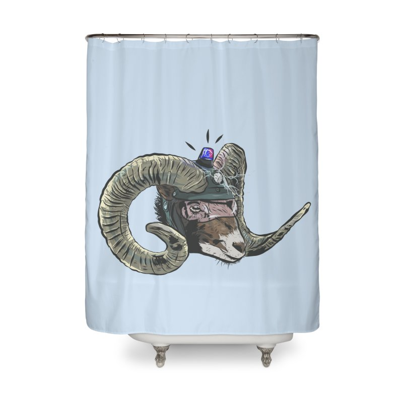 Time Police Home Shower Curtain by Time Machine Supplies