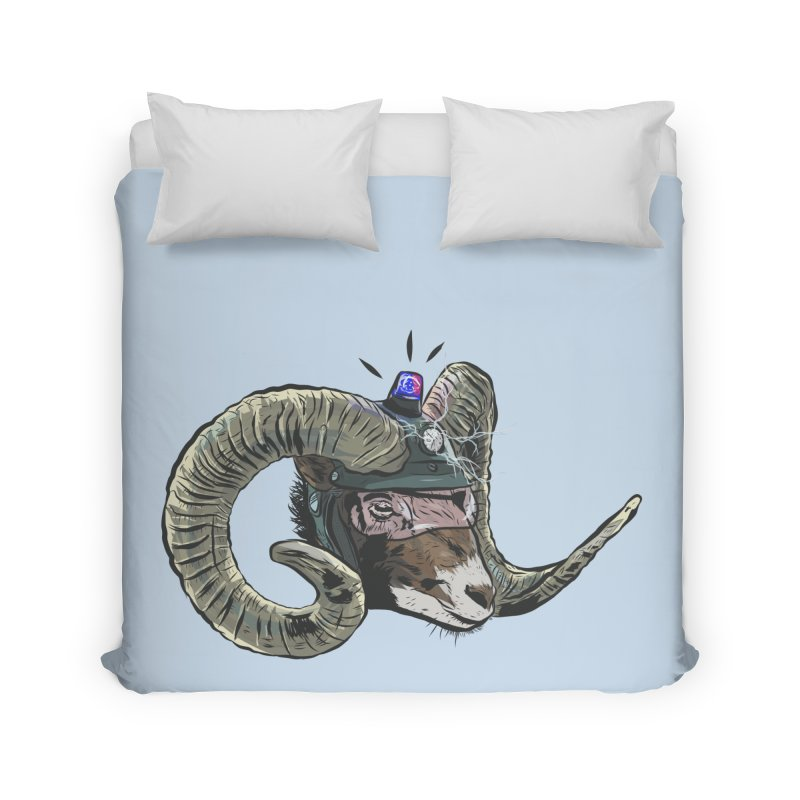 Time Police Home Duvet by Time Machine Supplies