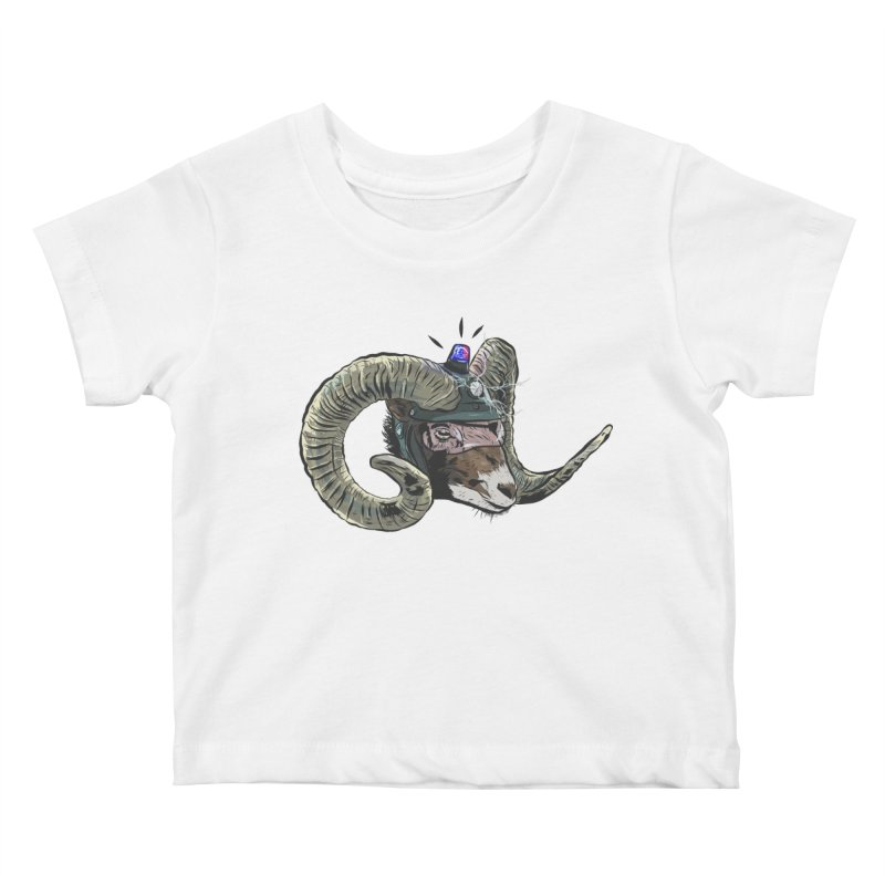 Time Police Kids Baby T-Shirt by Time Machine Supplies