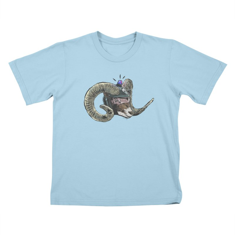 Time Police Kids T-Shirt by Time Machine Supplies