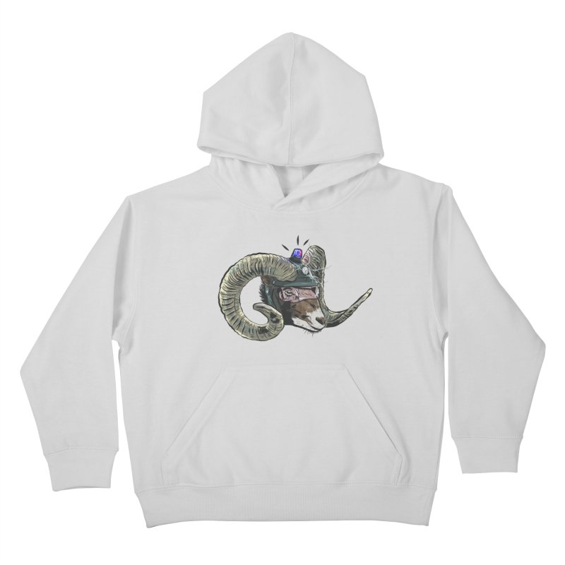 Time Police Kids Pullover Hoody by Time Machine Supplies