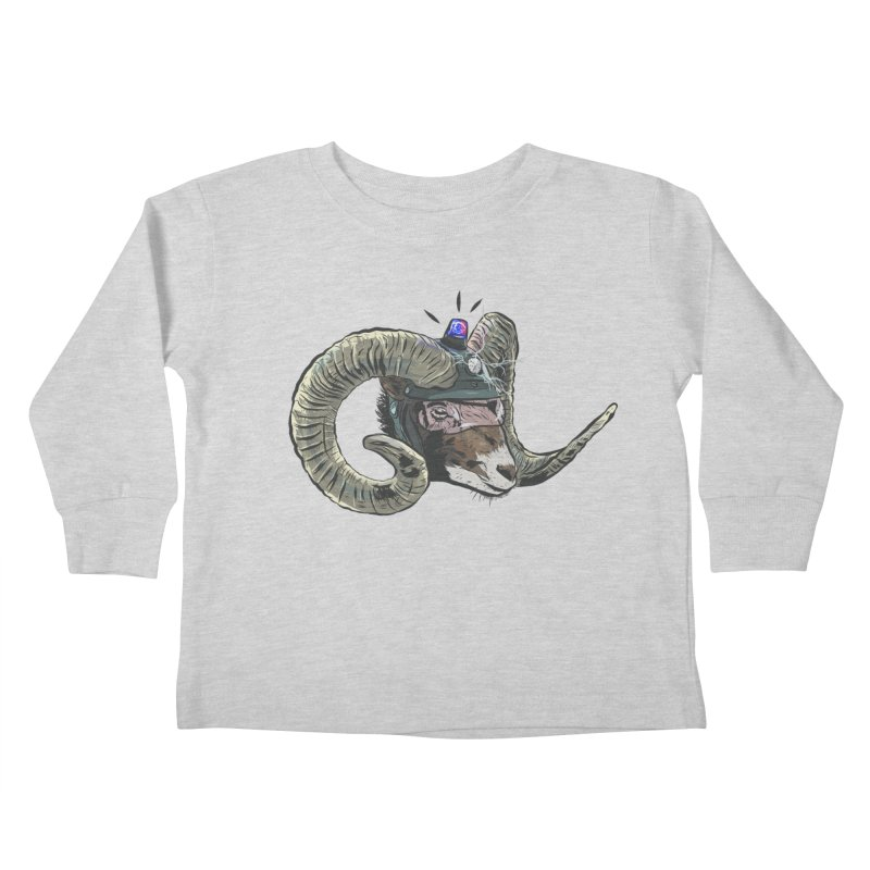 Time Police Kids Toddler Longsleeve T-Shirt by Time Machine Supplies