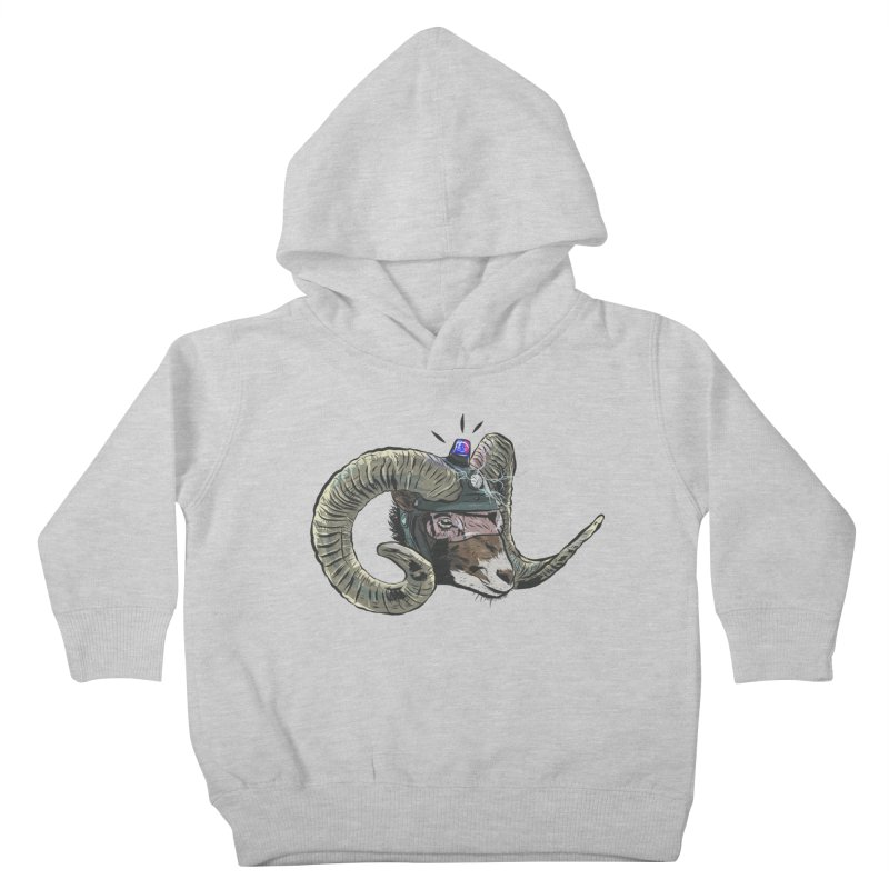 Time Police Kids Toddler Pullover Hoody by Time Machine Supplies