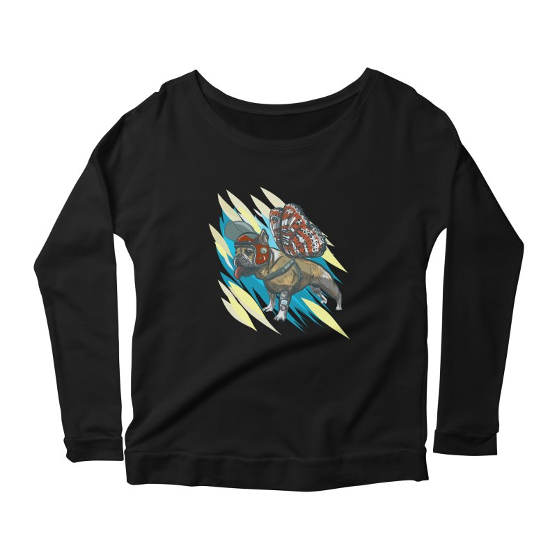 Time Travel Made Easy Women's Scoop Neck Longsleeve T-Shirt by Time Machine Supplies