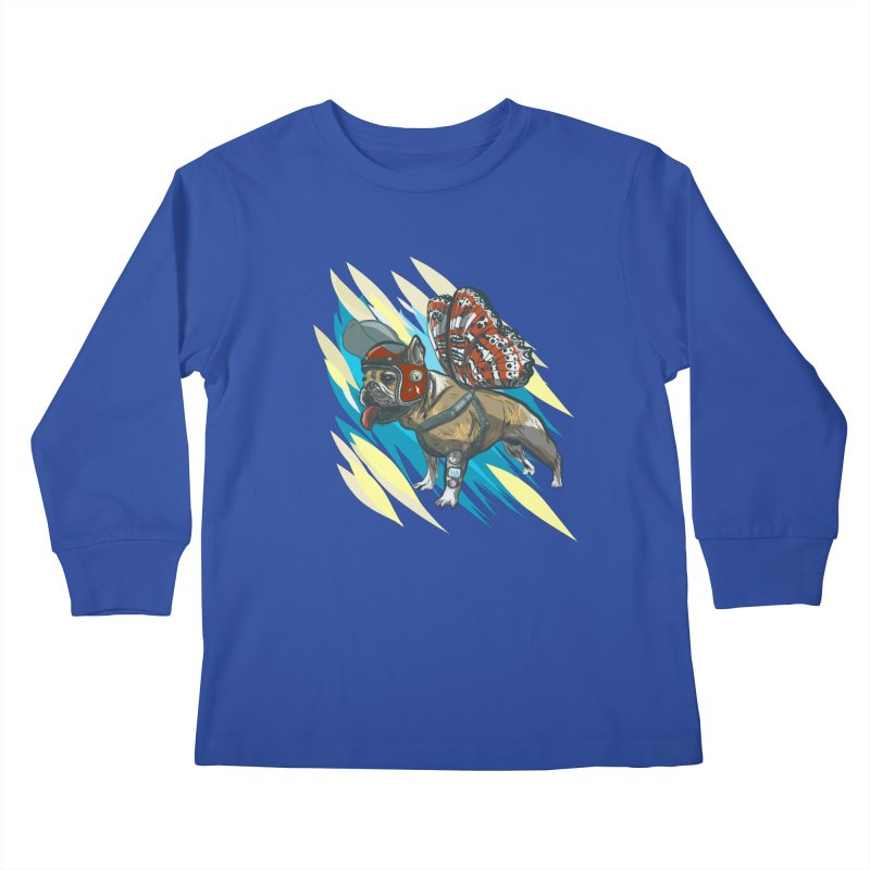 Time Travel Made Easy Kids Longsleeve T-Shirt by Time Machine Supplies