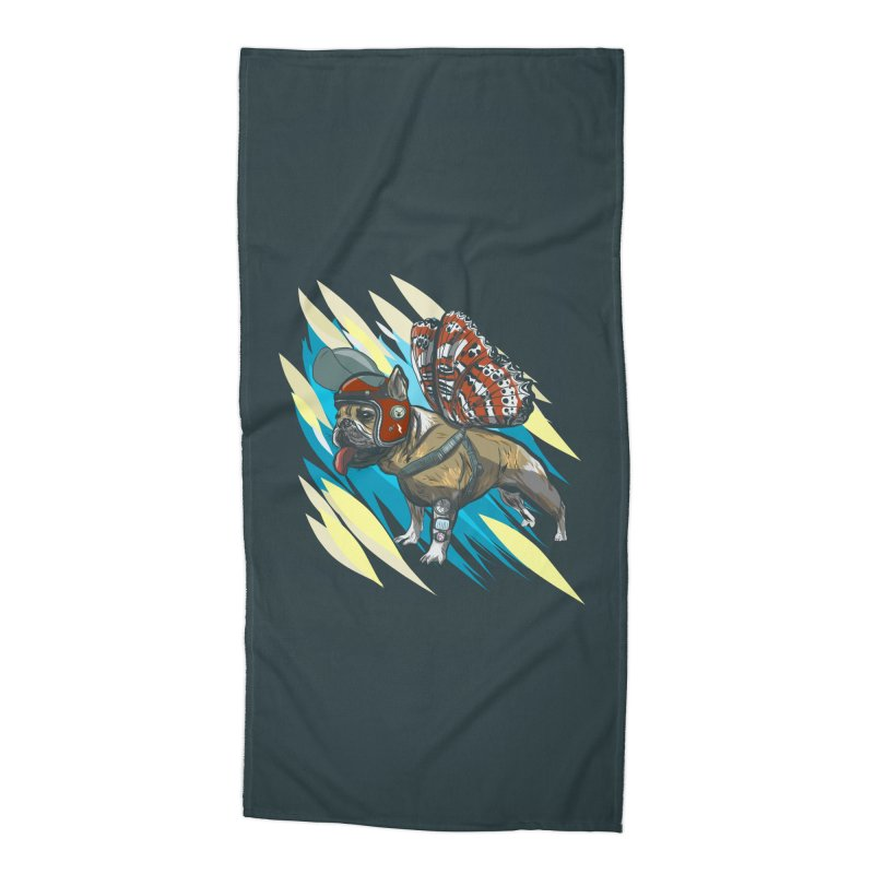 Time Travel Made Easy Accessories Beach Towel by Time Machine Supplies