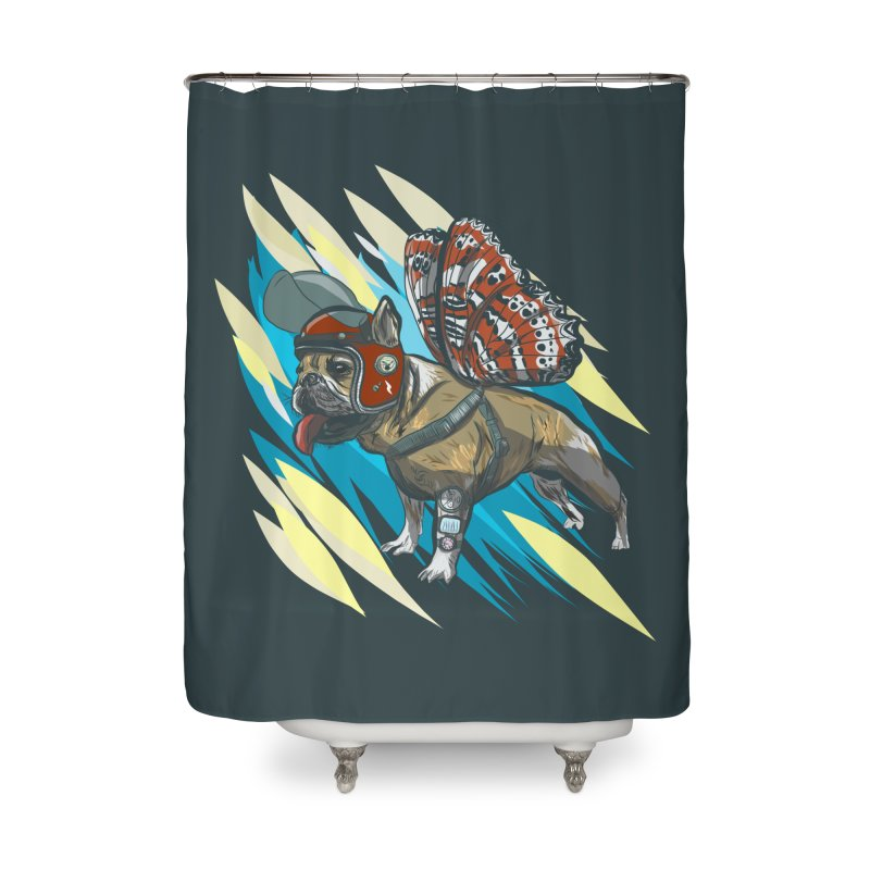 Time Travel Made Easy Home Shower Curtain by Time Machine Supplies