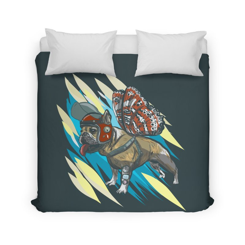 Time Travel Made Easy Home Duvet by Time Machine Supplies