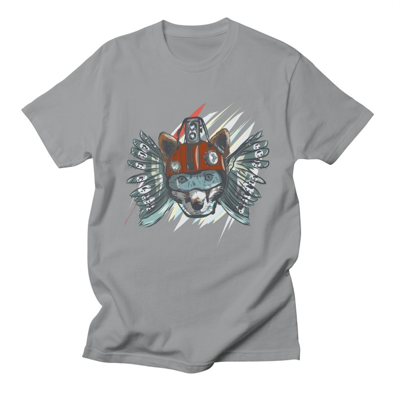 Wings of a Time Fox Women's Regular Unisex T-Shirt by Time Machine Supplies