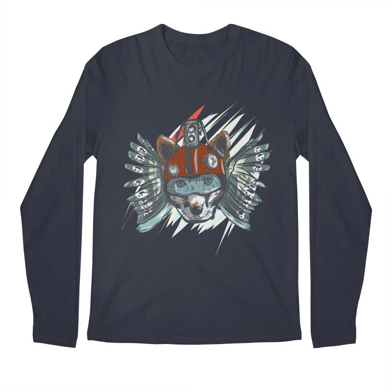 Wings of a Time Fox Men's Regular Longsleeve T-Shirt by Time Machine Supplies