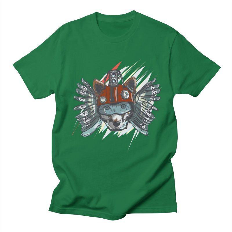 Wings of a Time Fox Men's Regular T-Shirt by Time Machine Supplies