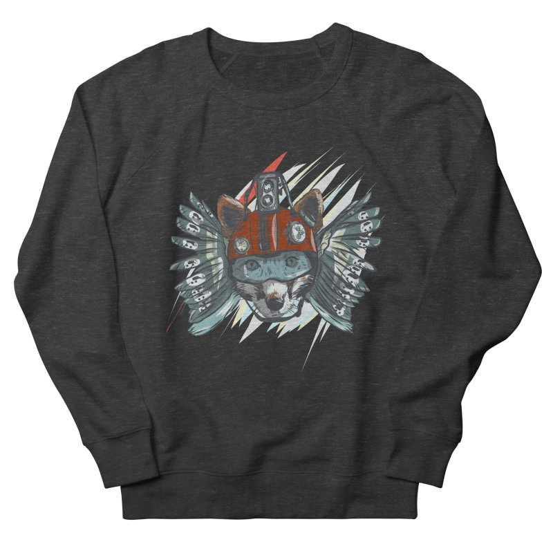 Wings of a Time Fox Women's French Terry Sweatshirt by Time Machine Supplies
