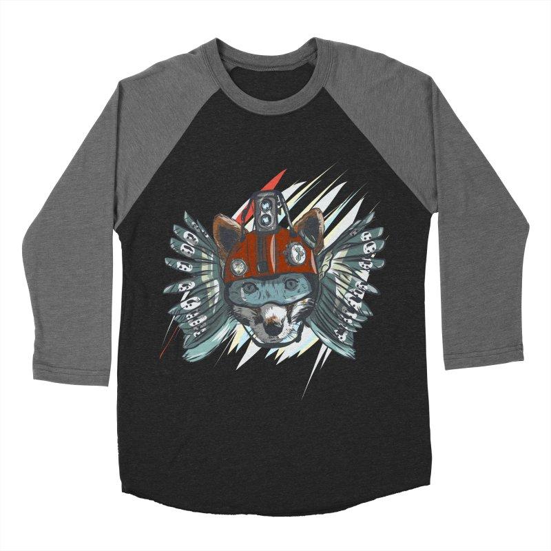 Wings of a Time Fox Women's Baseball Triblend Longsleeve T-Shirt by Time Machine Supplies