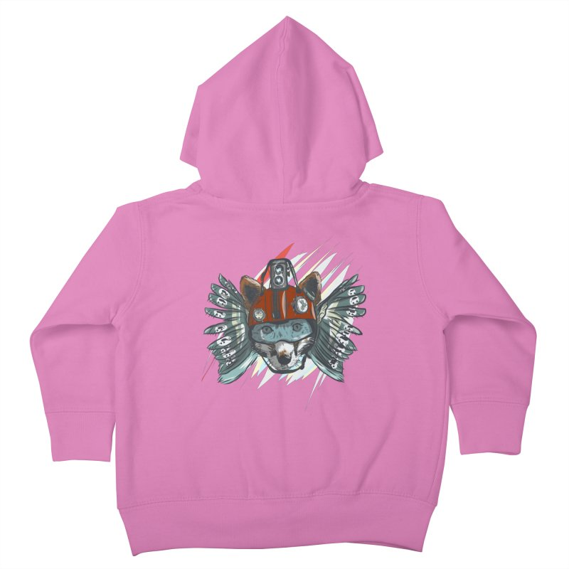 Wings of a Time Fox Kids Toddler Zip-Up Hoody by Time Machine Supplies
