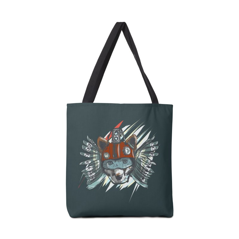 Wings of a Time Fox Accessories Tote Bag Bag by Time Machine Supplies
