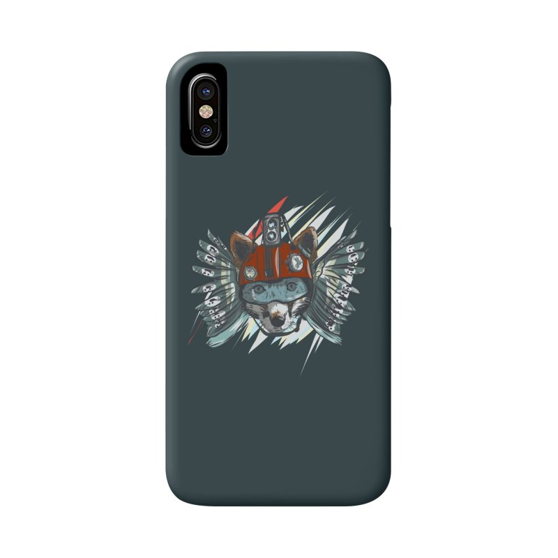 Wings of a Time Fox Accessories Phone Case by Time Machine Supplies