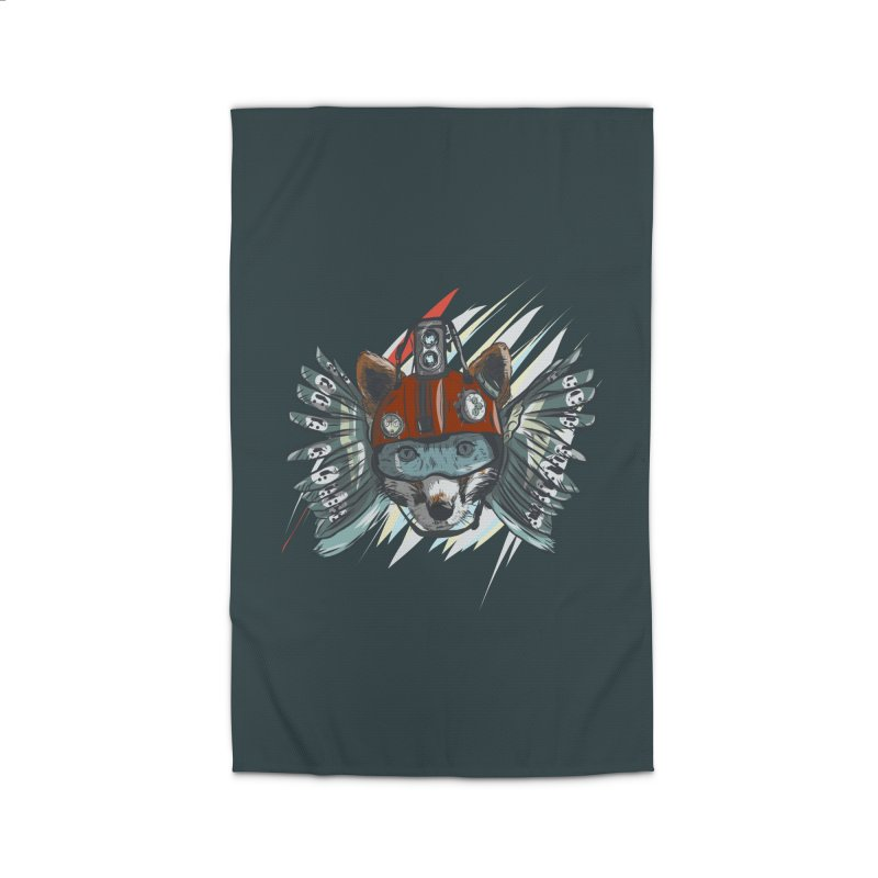 Wings of a Time Fox Home Rug by Time Machine Supplies