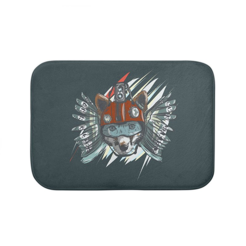 Wings of a Time Fox Home Bath Mat by Time Machine Supplies