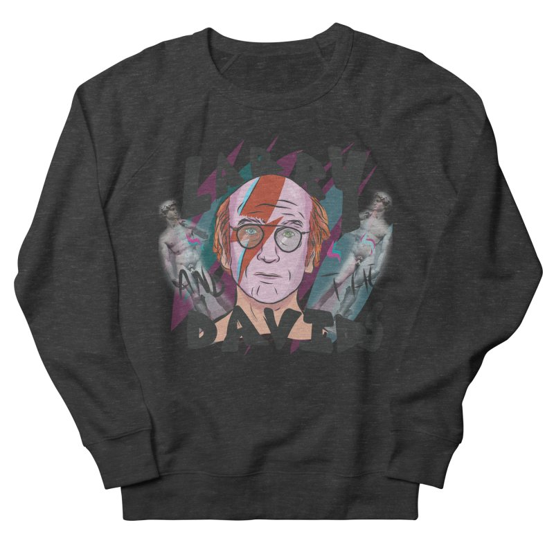 Larry and the Davids Men's French Terry Sweatshirt by Time Machine Supplies