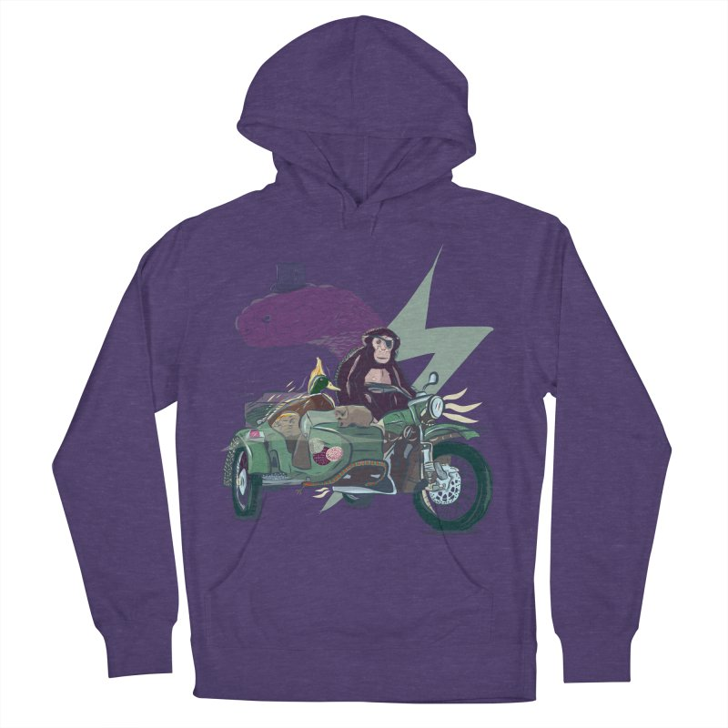 Crime Squad Men's French Terry Pullover Hoody by Time Machine Supplies
