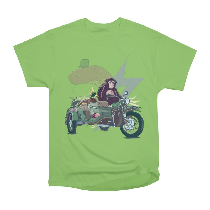 Crime Squad Women's Heavyweight Unisex T-Shirt by Time Machine Supplies