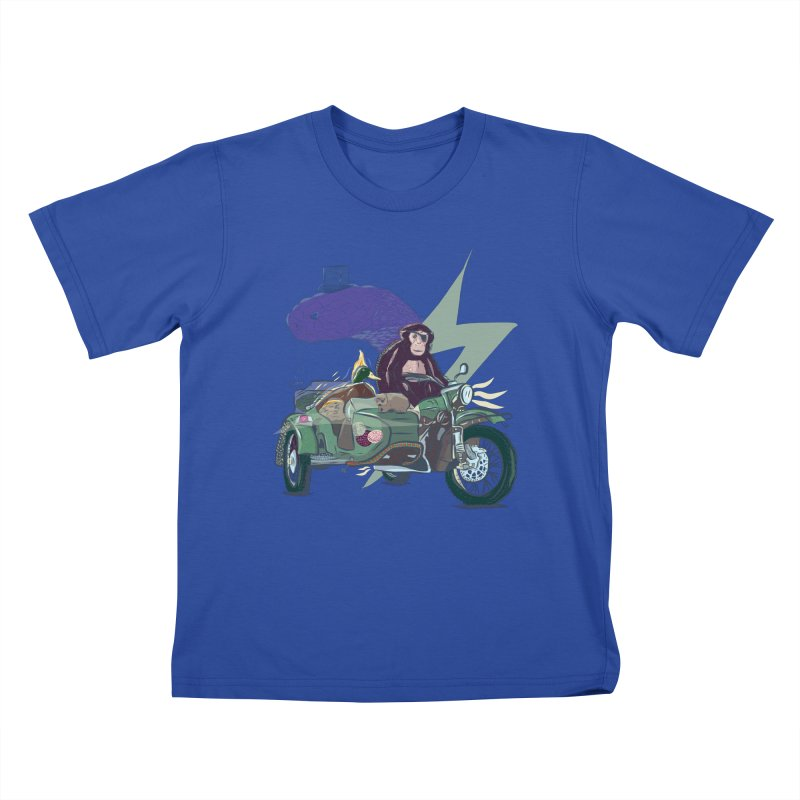 Crime Squad Kids T-Shirt by Time Machine Supplies
