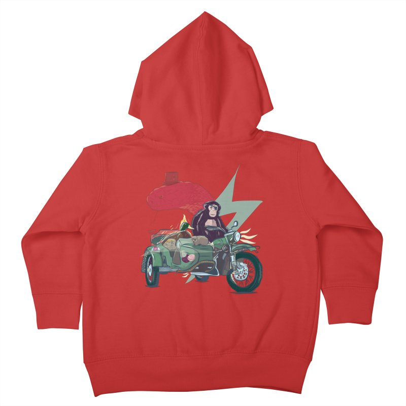 Crime Squad Kids Toddler Zip-Up Hoody by Time Machine Supplies