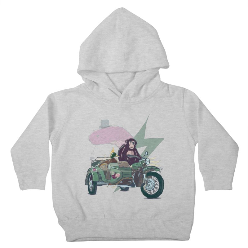 Crime Squad Kids Toddler Pullover Hoody by Time Machine Supplies
