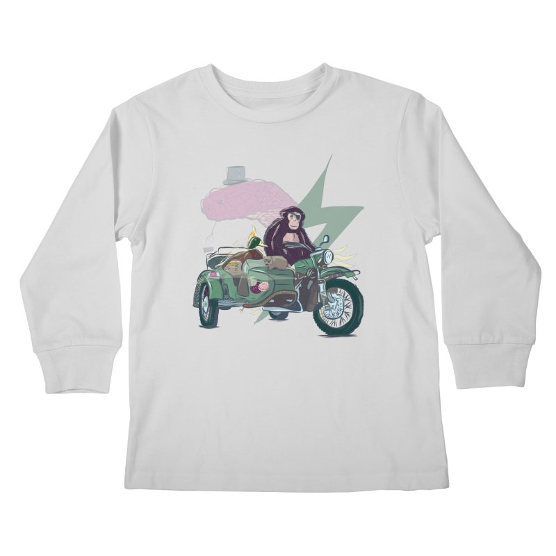 Crime Squad Kids Longsleeve T-Shirt by Time Machine Supplies