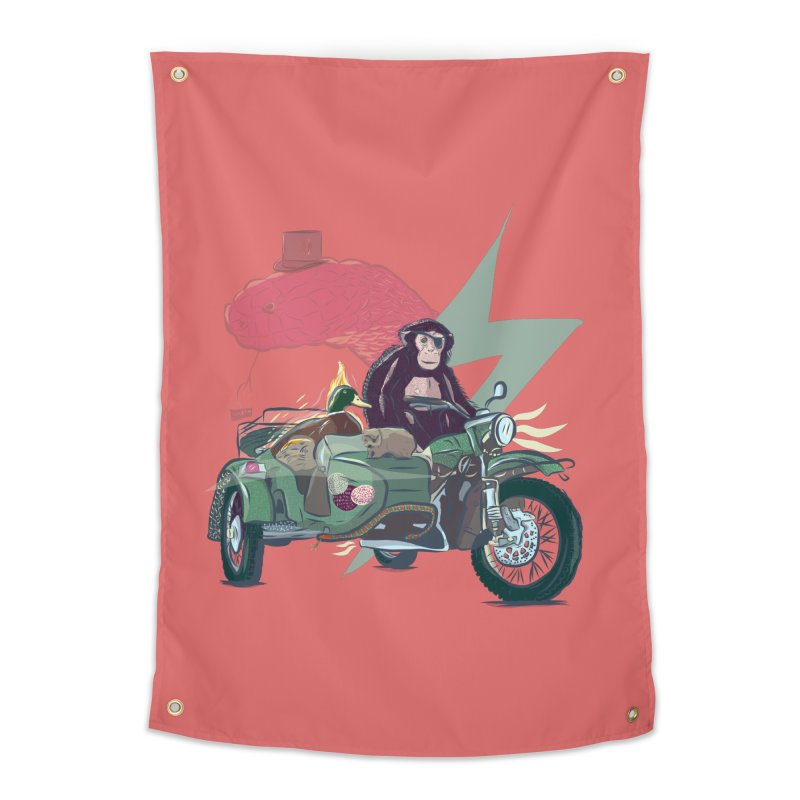 Crime Squad Home Tapestry by Time Machine Supplies